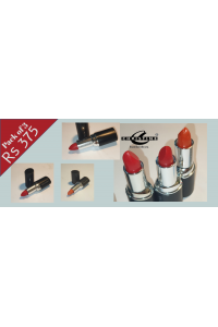 PACK OF 3 PRICES LIPSTICKS BY CHRISTINE COSMETICS