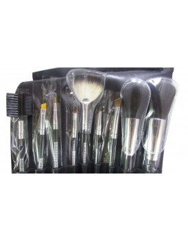 CHRISTINE  ARTISTIC MAKEUP BRUSH KIT  (9pc )
