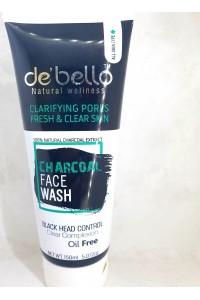 Debello Charcoal Face washw