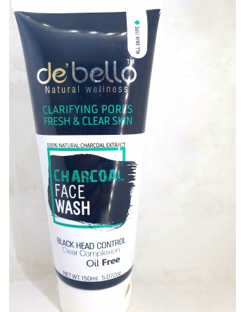 Debello Charcoal Face washw