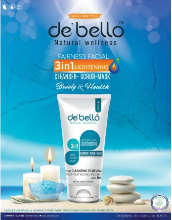 Debello 3 in 1 Facial