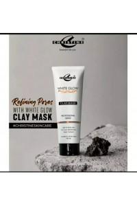 Christine white glow clay mask