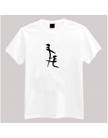 White Printed T-Shirt BJ-100