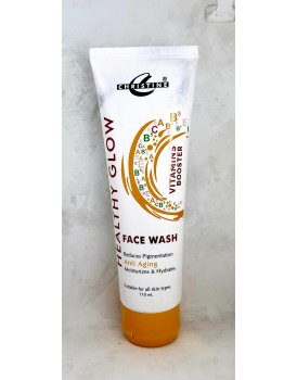 Christine healthy glow face wash with vitamin booster